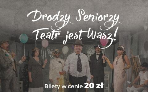 """Zdjęcie Andrzeja Wencla ze spektaklu """"Śmierć pięknych saren"""""""