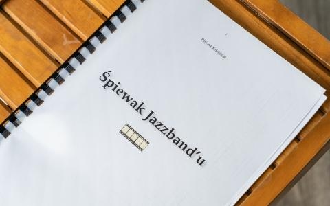 Śpiewak Jazzbandu / fot. Maurycy Stankiewicz