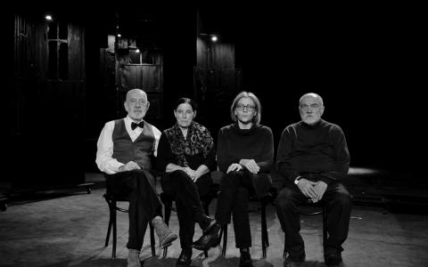 Jan Szurmiej, Marta Hubka, Teresa Wrońska, Wojciech Jankowiak / fot. A.Wencel