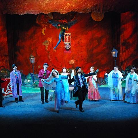 Bonjour Monsieur Chagall / reż. Szymon Szurmiej i Gołda Tencer / fot. Marek Górecki