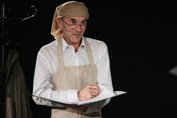 Miasteczko Kasrylewka / reż. Shmuel Atzmon-Wircer / na zdjęciu Jerzy Walczak