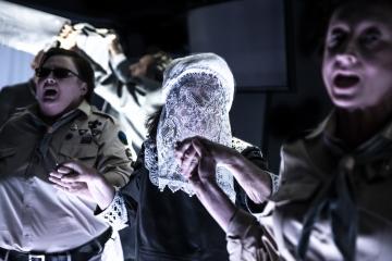 Der Szturem. Cwiszyn/ Burza. Pomiędzy, reż. Damian J.Neć/ fot.Natalia Kabanow