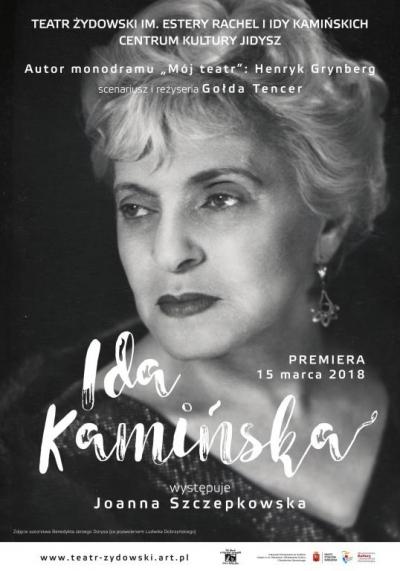Ida Kamińska / proj. Michał Szperling