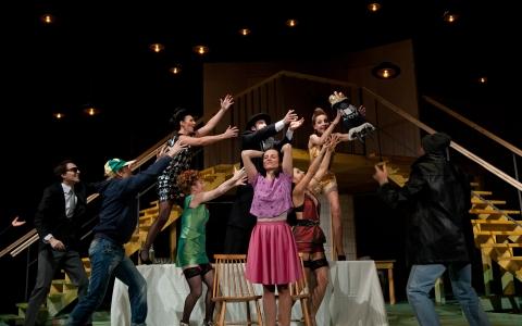 Bóg zemsty Szolema Asha w reżyserii Andrei Munteanu. Teatr Żydowski w Warszawie