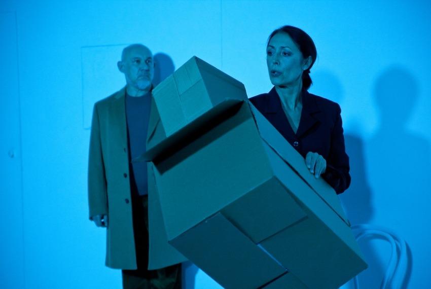 Walizka / reż. Dorota Ignatjew / fot. A.Wencel / na zdjęciu Andrzej Blumenfeld i Ernestyna Winnicka