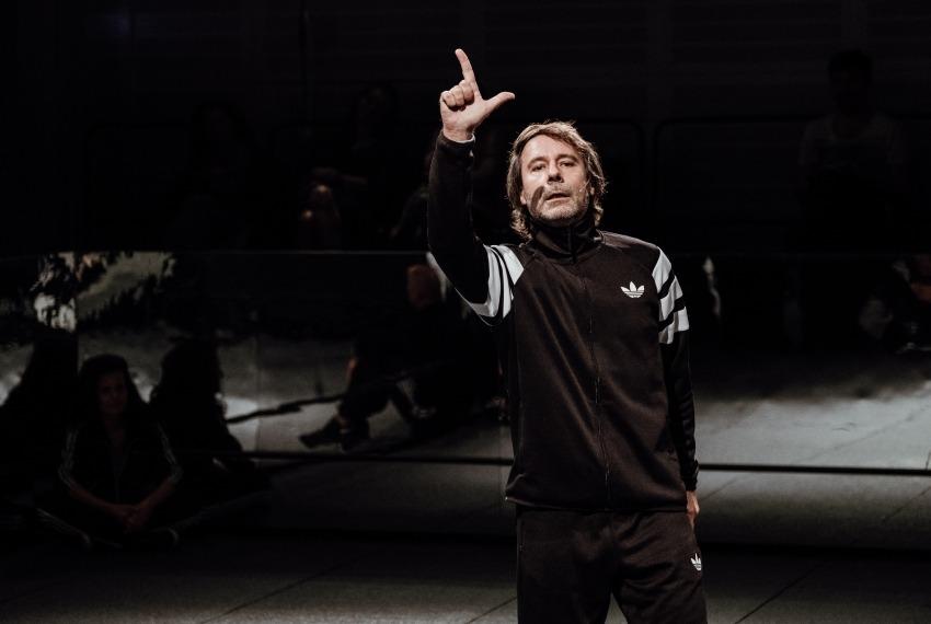 Kibice / reż. Michał Buszewicz / fot. B.Warzecha / na zdjęciu Piotr Wiszniowski
