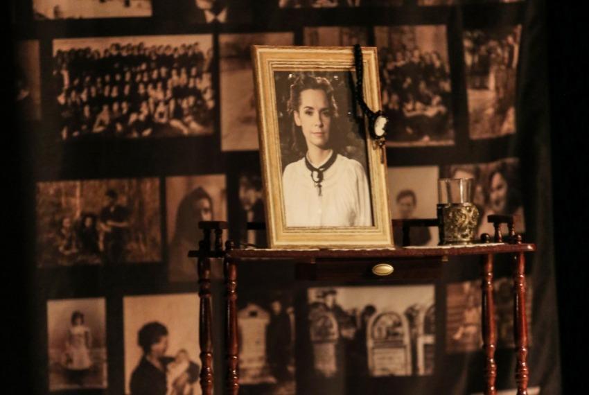 Ruchele wychodzi za mąż / reż. Jacek Papis / fot. M.Kuśmierz / na zdjęciu Joanna Rzączyńska
