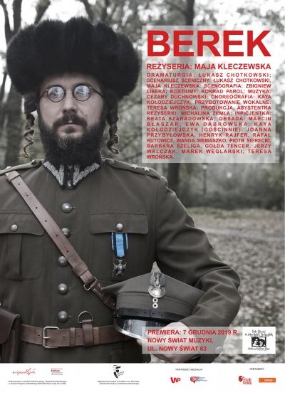 Berek / rez. maja Kleczewska / proj. Zbigniew Libera