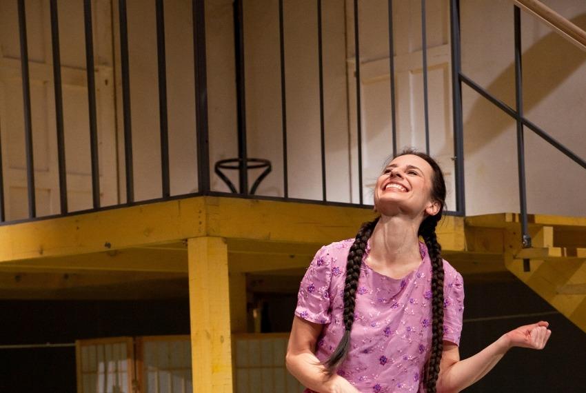 Bóg zemsty / reż. Andrei Munteanu / fot. A.Wencel / na zdjęciu Ewa Greś