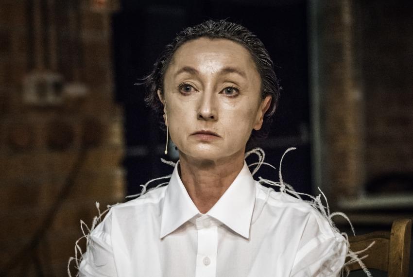 Golem / reż. Maja Kleczewska / na zdjęciu Joanna Przybyłowska